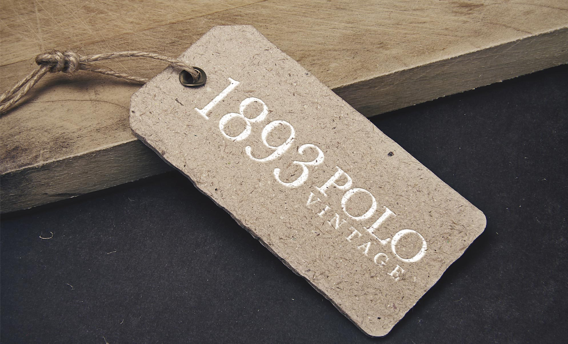 1893 Polo VIntage Identity Packaging