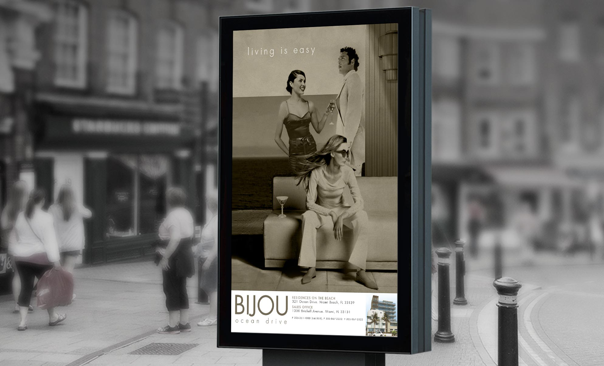 Bijou Building Miami Advertising