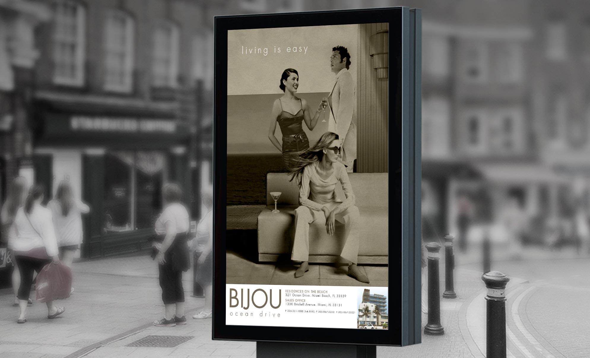 Bijou Building Miami Advertising