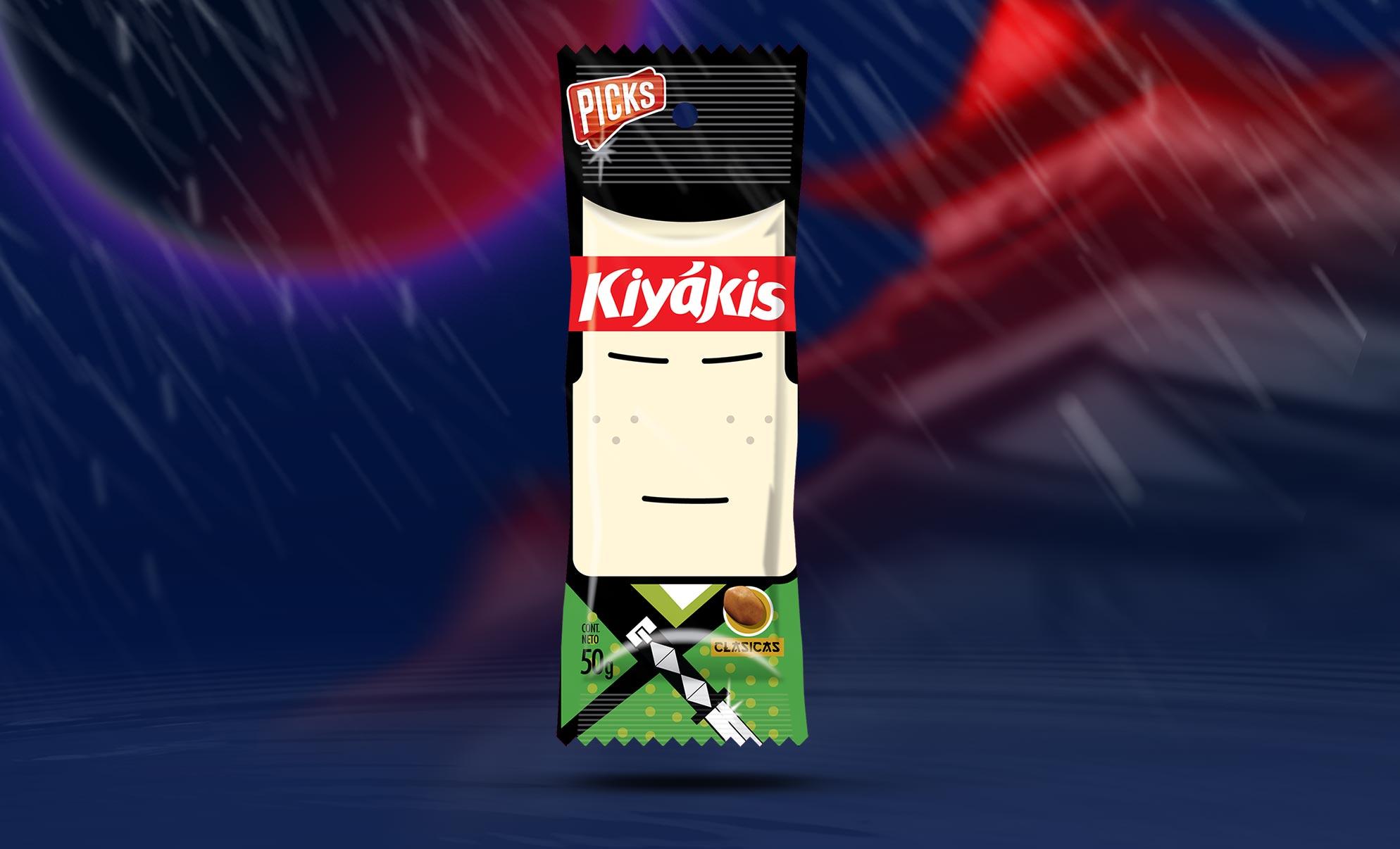 Kiyakis Peanuts Packaging Character Samurai
