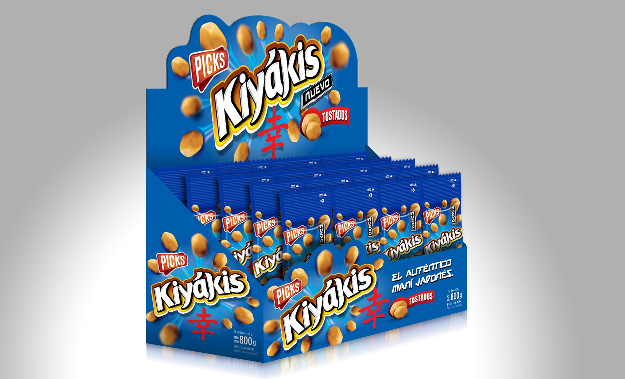 Kiyakis Peanuts Packaging POP