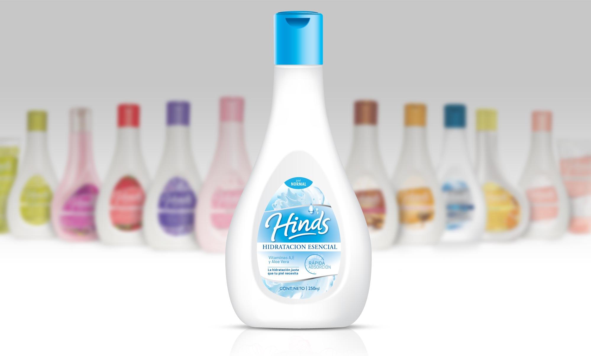 Glaxosmithkline Hinds Packaging Hidratación Esencial