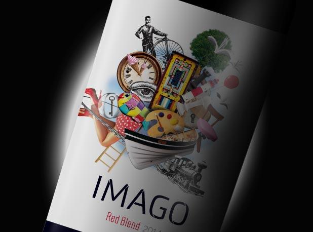 Peñaflor Trapiche Imago Wine Packaging Red Blend