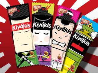 Kiyakis Peanuts Packaging Characters Special Edition