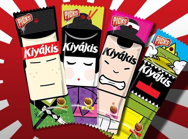 Kiyakis Peanuts Packaging Characters Special Edition