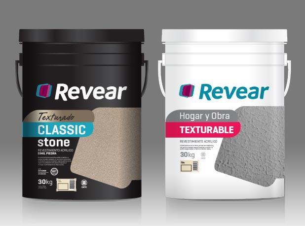 ParexGroup Revear Paint Pinturas Packaging Baldes