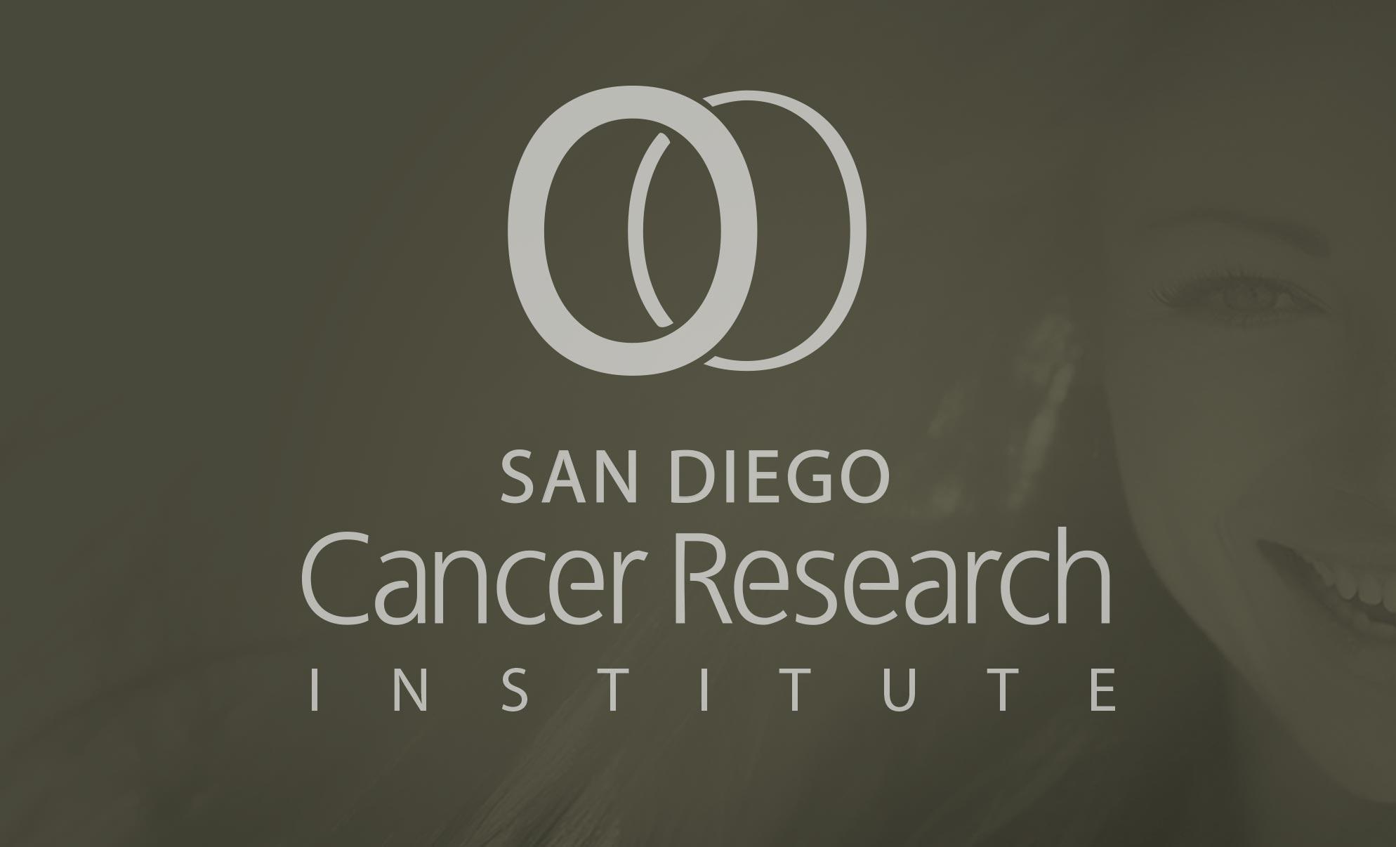San Diego Cancer Research Identity Logotype Logo