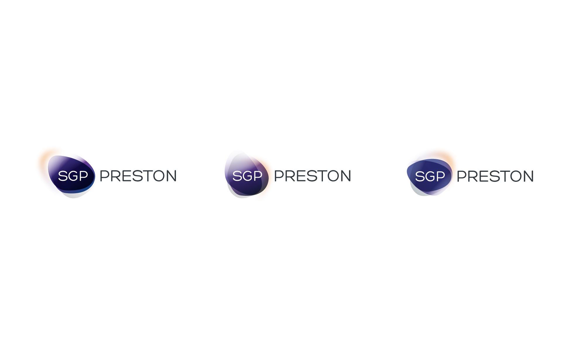 SGP Preston Identity Logotype Logo