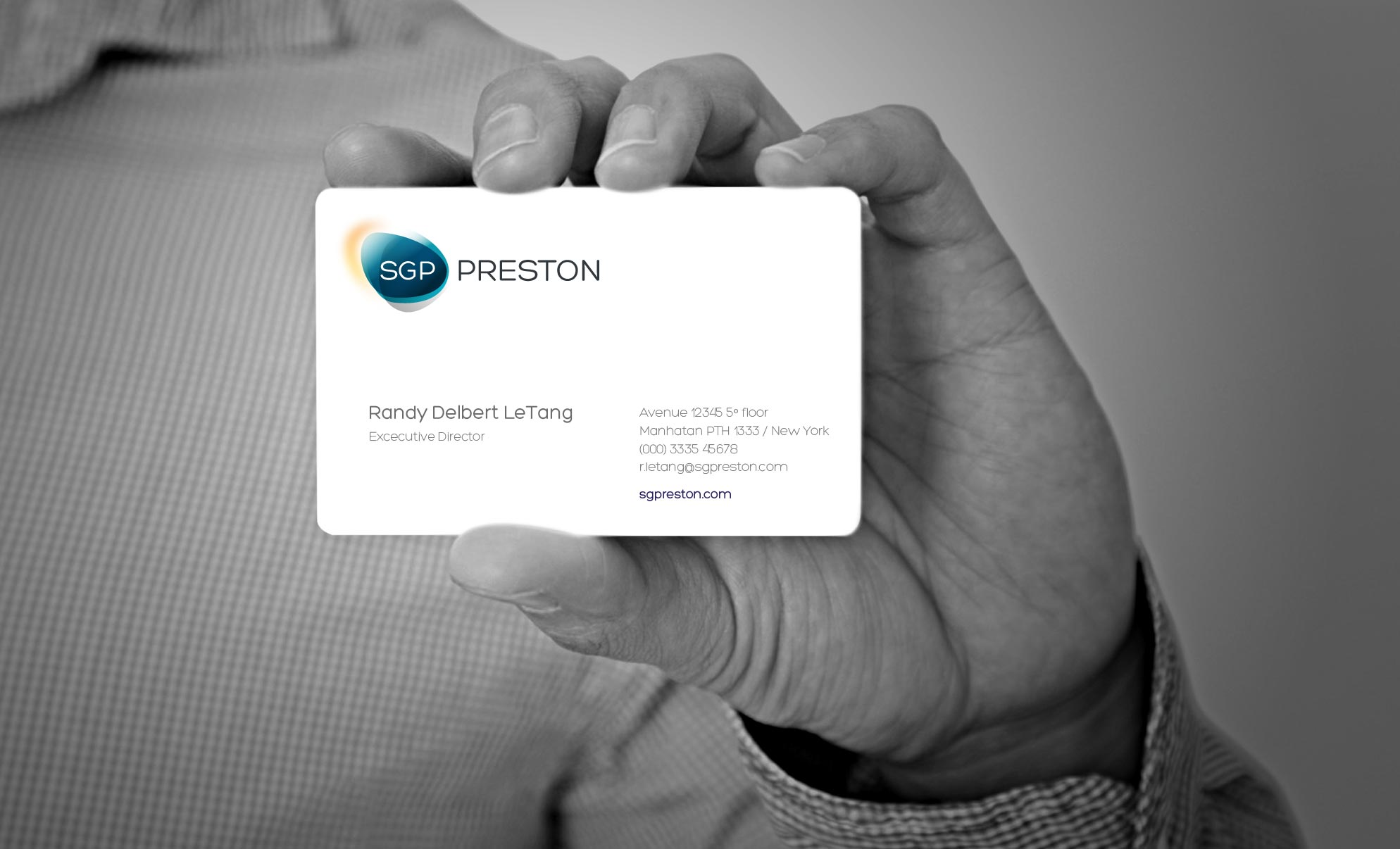 SGP Preston Personal Card