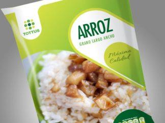 Tottus Packaging Arroz Chile Peru