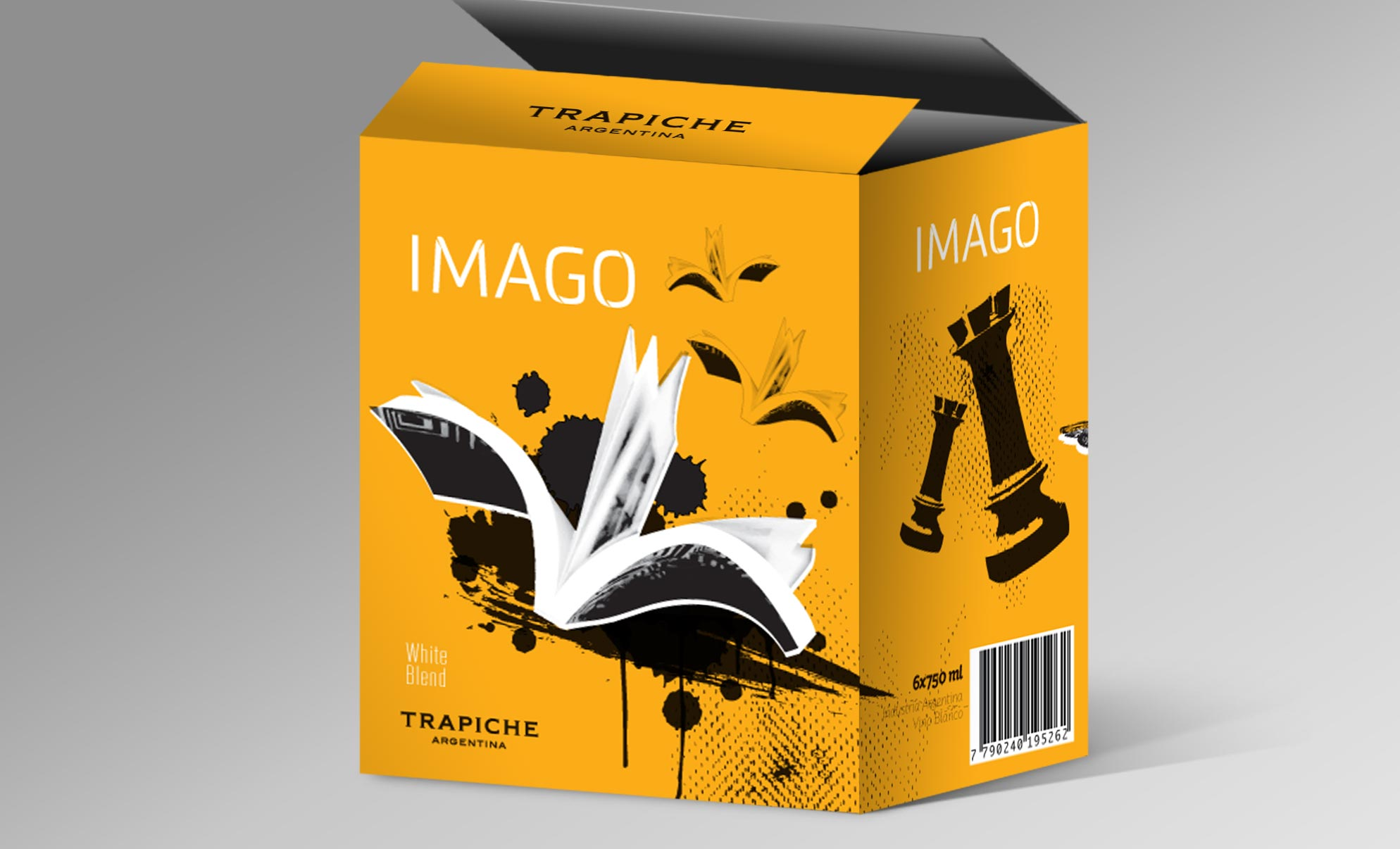 Peñaflor Trapiche Imago Wine Packaging White Blend