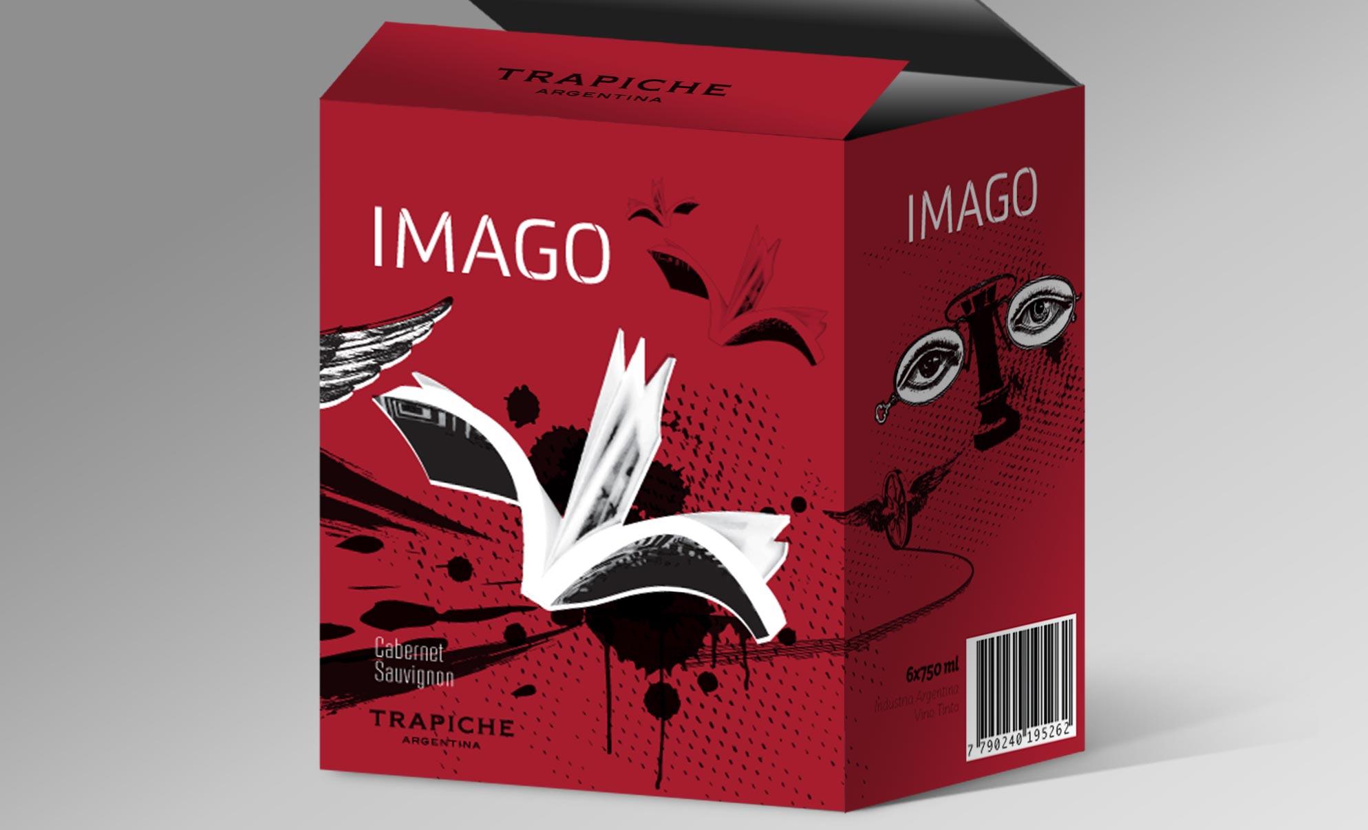 Peñaflor Trapiche Imago Wine Packaging Cabernet Sauvignon