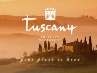 Tuscany Broker Property Managment Italy Logotype Logo