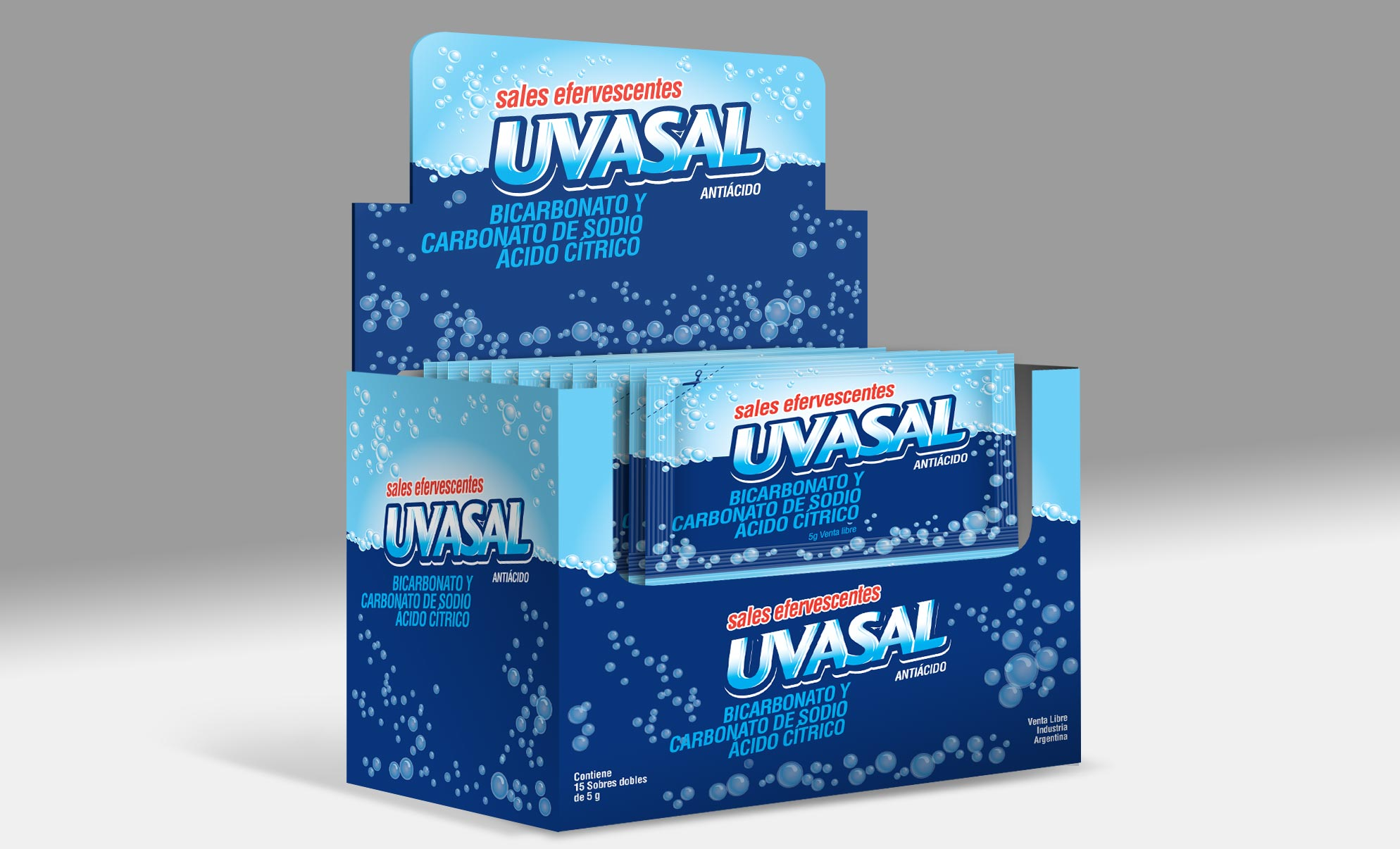Glaxosmithkline Uvasal Packaging