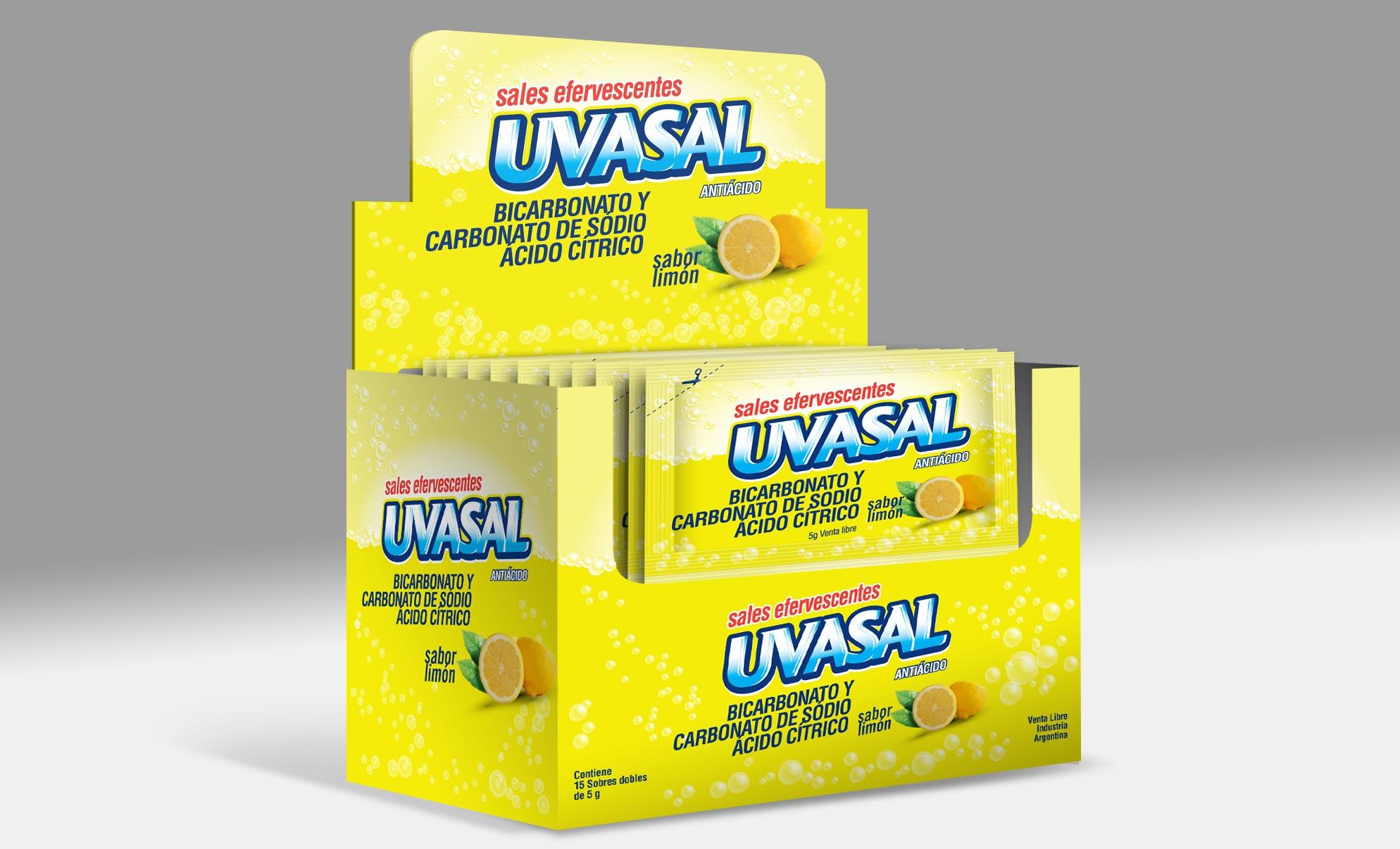 Glaxosmithkline Uvasal Packaging Limón