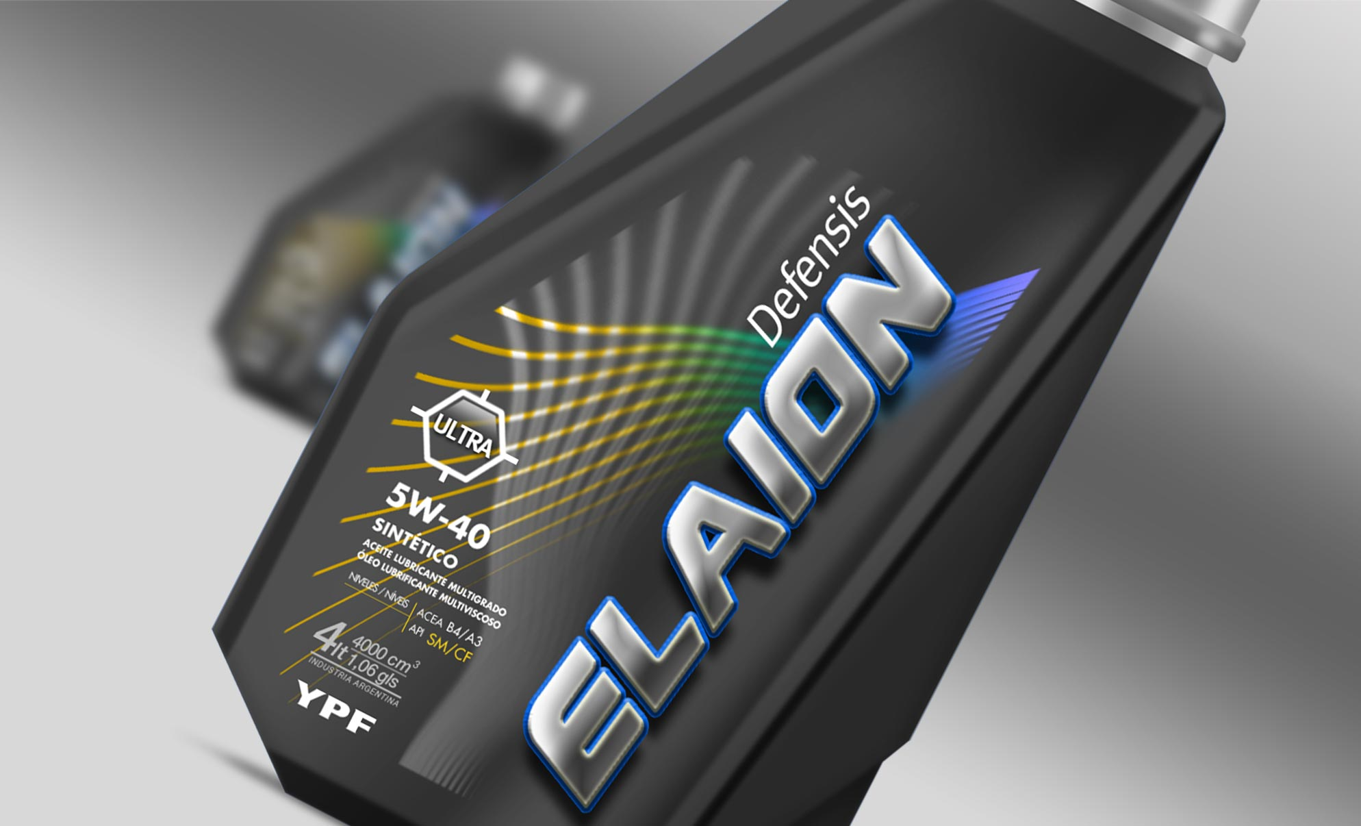 YPF El Aion Oil Aceite Packaging