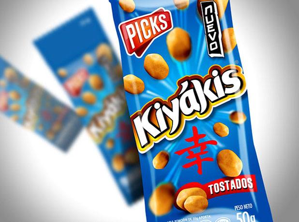 Kiyakis Peanuts Packaging