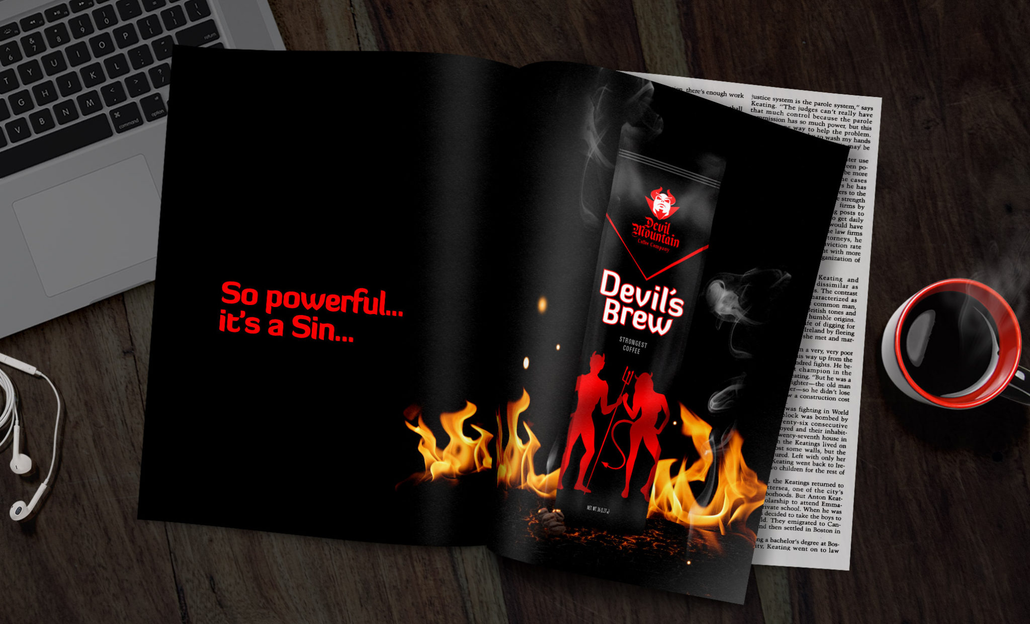 Devil's Brew coffee