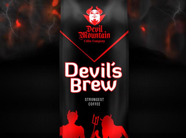 Devil's Brew coffee