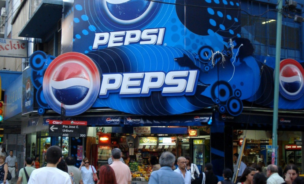 Pepsi POS Open 25 Drusgstore Kiosko Choreography Marquee Environmental Customized