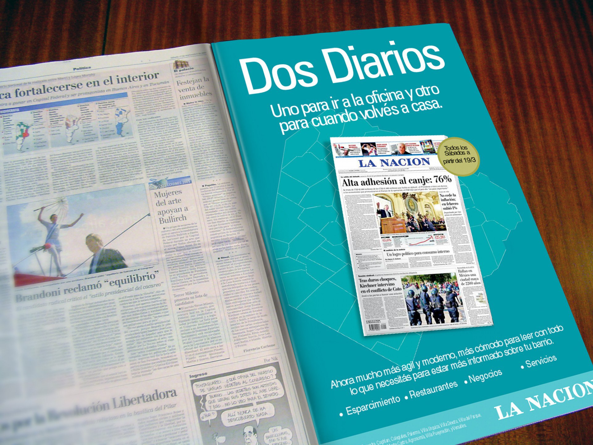 La Nacion Newspaper Advertising